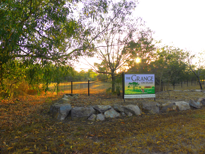 Millar Road entrance, Lot 5029